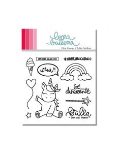 Kit de sellos acrílicos de...