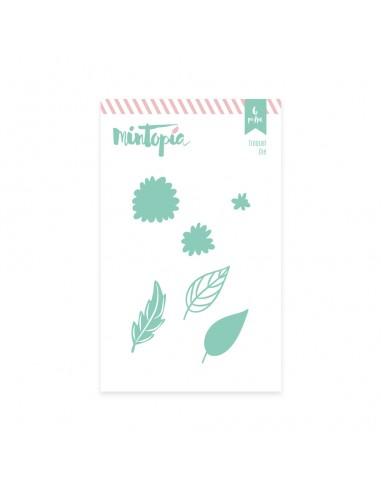 Troquel de Mintopia - Flores y ramas