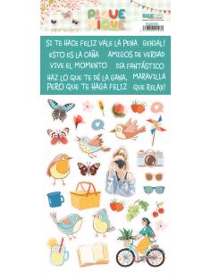 162 pegatinas de Quim Díaz...