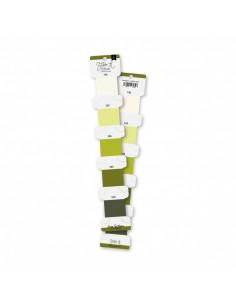 hilos para bordar de lora bailora color verde lima