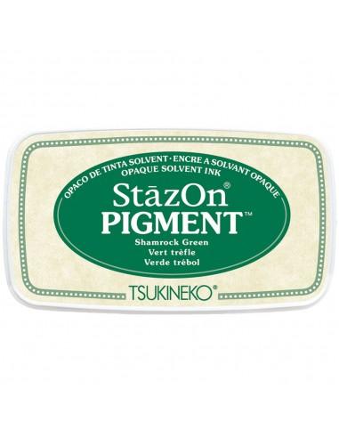 Tinta para estampar StazOn Pigment - Shamrock Green