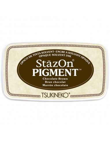 Tinta para estampar StazOn Pigment - Chocolate Brown