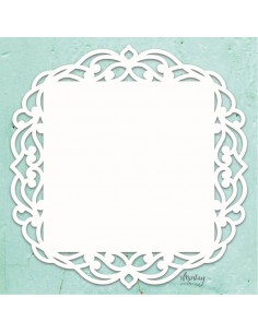 Chipboard de Mitay Papers Mintay Chippies Decor - Fancy Square