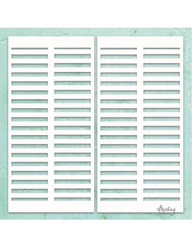 Chipboard de Mitay Papers Mintay Chippies Decor - Shutters