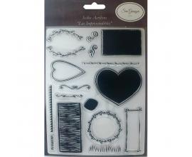 Kit de sellos acrilicos de Sra. Granger Viajes Vintaje