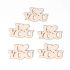Scrapbook elementos de chipboard cortados de laser Engranajes