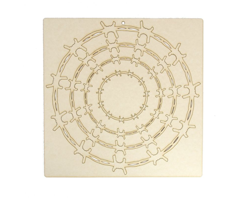 Scrapbook elementos de chipboard cortados de laser - IDEA1471