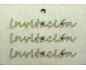 Scrapbook elementos de chipboard de Navidad cortados de laser IDEA1497