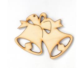 Figurita de madera para Navidad IDEA1211