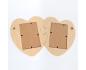 Marco de madera IDEA1566 - Puzzle de corazones