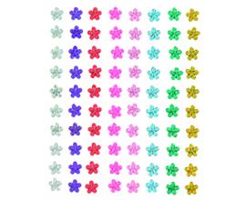 Kit de flores de papel y perlas autoadhesivas de Artemio