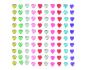 Kit de 100 stickers de cristal circulos de Artemio