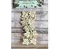 Elemento decorativo de chipboard col. Memories of Ivy elemento 1