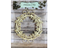 Elemento decorativo de chipboard col. Memories of Ivy elemento 1