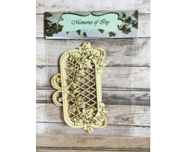 Elemento decorativo de chipboard col. Memories of Ivy elemento 2