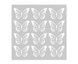 Stencil Sra. Granger Honeycomb 6 x 6