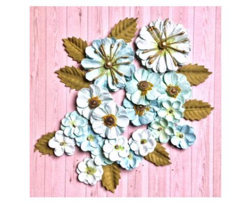 Flores de papel de Sra. Granger - CLASSIC WHITE FLORES SG