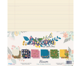 Blossom by Quim Díaz una coleccion de papeles llena de color