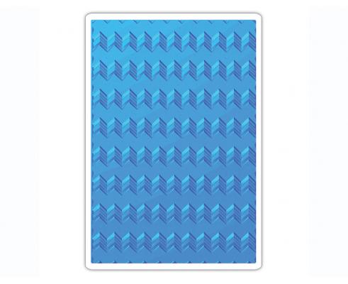 Placa de textura 3D TEXTURED IMPRESSIONS Geometric de Lindsey Serata