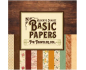 Basic paper for Traveler de Vintage Odissey - Kit de 6 papeles de doble cara