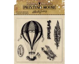 Printing House de Vintage Odissey Sellos de silicona - Conserve Time