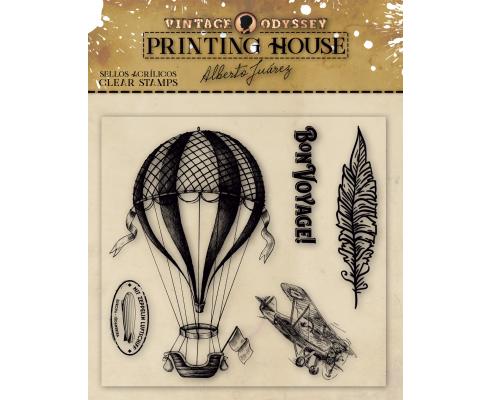 Printing House de Vintage Odissey Sellos de silicona - Photografer
