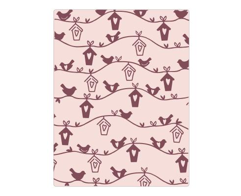 Carpeta de embossing de Sizzix - Birdhouse de Samantha Barnett