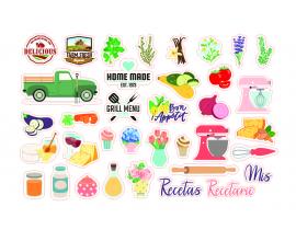 Die cuts de Quim Diaz col. Delicious 36 formas troqueladas