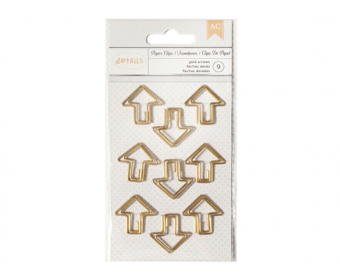 9 Clips Flecha de American Crafts