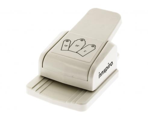 Troqueladora de etiquetas de innspiro Tag Punch