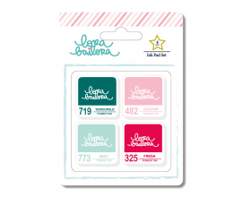 Set de 4 tintas de pigmento de Lora Bailora - Madera