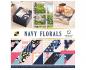 Kit de 36 papeles de scrapbook de doble cara de DCWV - Botanical Beauty