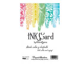 Ink Card de Alberto Juarez kit de 12 tarjetas de tamaño 10x15 cm.