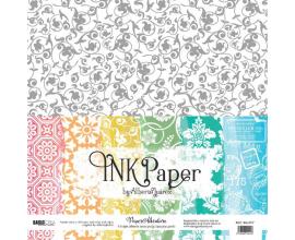 Ink Paper de Alberto Juarez kit de 6 papeles de impresos a una cara 12x12 pulgadas