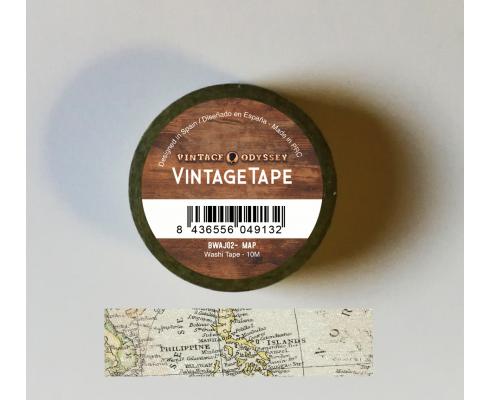 Washi Tape de Alberto Juárez - Traveller Map