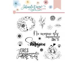 Sello de Johanna Rivero - Pajaritos