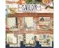 Sailor de Vintage Odissey - Kit de 6 papeles de doble cara
