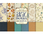 Basic paper for Sailor de Vintage Odissey - Kit de 6 papeles de doble cara
