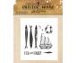 Printing House de Alberto Juarez sellos de silicona col. Sailor - Flowers