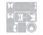 Troquel Thinlits de Sizzix de Tim Holtz- Flurry 1