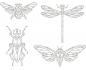 Set de 3 troqueles Thinlits Adorned de Tim Holtz