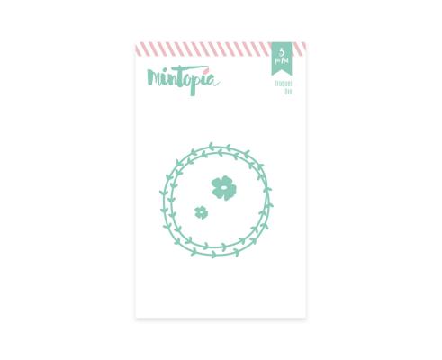 Troquel de Mintopia colección Bonita - Corona y Flores