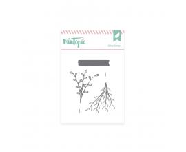 Sello de Mintopia de colección Bonita - Ramitas con Washi