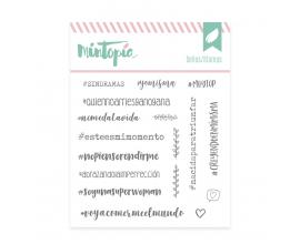 Sello de Mintopia de colección Bonita - Hoy Escojo Ser Feliz