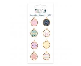 Charms de Mintopia de colección Bonita