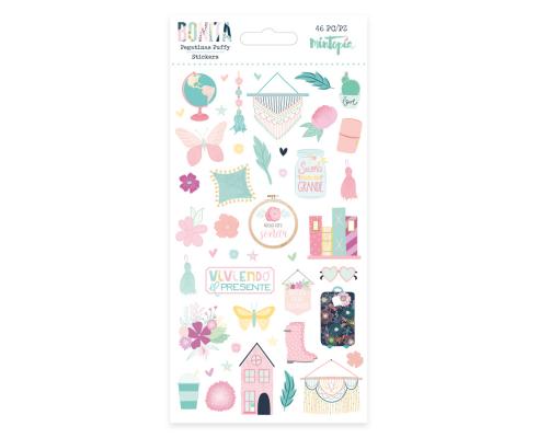 Pegatinas Puffy de Mintopia de colección Bonita