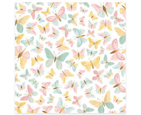 Vellum de Mintopia de colección Bonita - Mariposas Foli