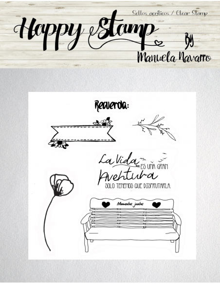 Happy Stamp los sellos de Manuela Navarro - La vida es...