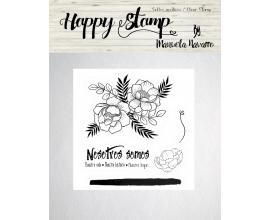 Happy Stamp los sellos de Manuela Navarro - Peonias