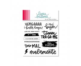 Kit de sellos acrílicos de Lora Bailora - Ansia Viva